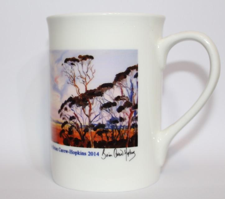 Bone China Art Mug
