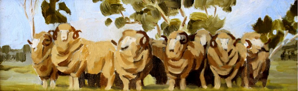 Rams in a row
