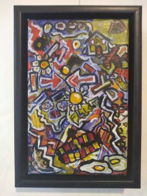 Breakfast Time, abstract art by Brian Carew-Hopkins on VooGlue