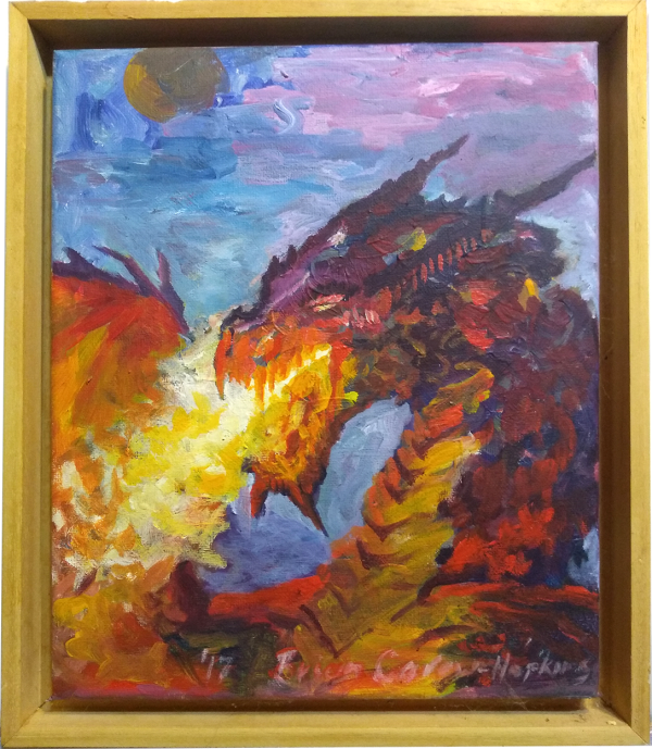 That Angry Dragon by Brian Carew-Hopkins