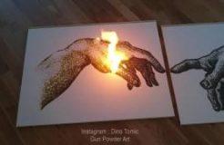 Gun Powder Artwork - Dino Tomic1